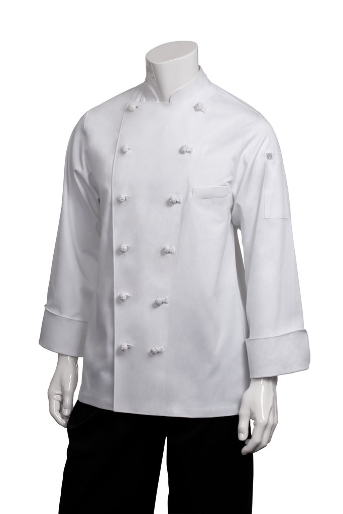 Chef Works Mens Montreal Cool Vent Chef Coat, White, 60 by Chef Works
