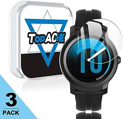 Topace Mobvoi TicWatch E2 Protector de Pantalla de Vidrio Templado ...