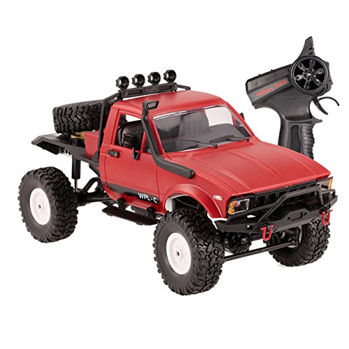 The perseids 1:16 2.4G 2CH 4WD RC Off-Road Vehicle Military Semi-Truck Car Climb Truck RTR Toy for Kids