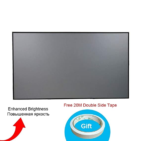 72 84 100 16 9 projector projection screen home theater hd movie screen bt bcana eparna