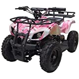pink camo quad - MotoTec 24V Mini Quad V4, Camo Pink