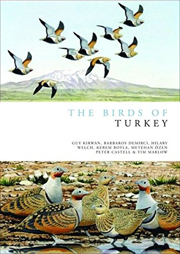 Download The Birds of Turkey (Helm Field Guides) pdf epub