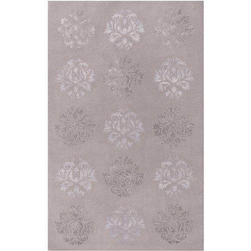 Surya Tamira TAM-1006 Transitional Hand Tufted 100% Wool / Viscose Flint Gray 3'6