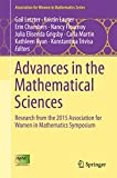 Advances in the Mathematical Sciences: Research from the 2015 Association for Women in Mathematics Symposium (Association for Women in Mathematics Series)