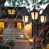 FAISHILAN 7.55Ft Outdoor Post Light, Waterproof Led
