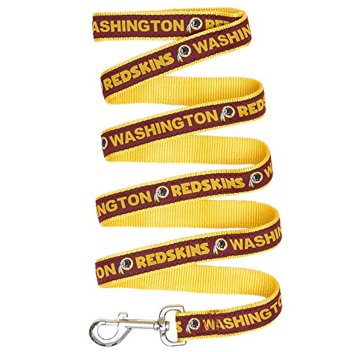Image of Pets First Washington Redskins Pet Leash, Medium