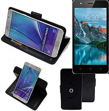 K-S-Trade 360° Funda Smartphone para TP-Link Neffos C5A, Negro ...