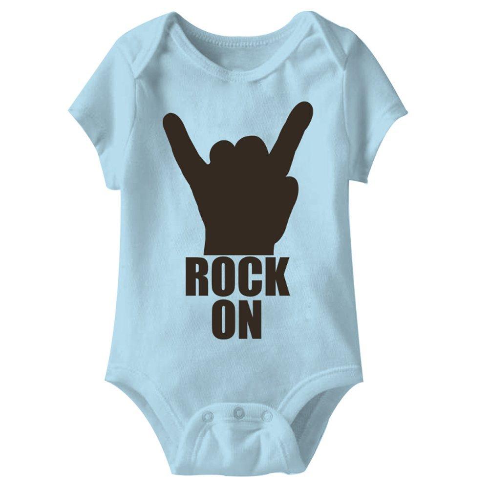 A/&E Designs Baby Romper Rock On Onesie