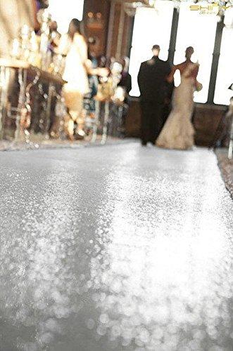 Aisle Runner For Wedding.Shinybeauty 4ftx15ft Wedding Aisle Runner Silver Glitter Carpert Runner Sequin Aisles Floor Runner Wedding Ceremony Decor