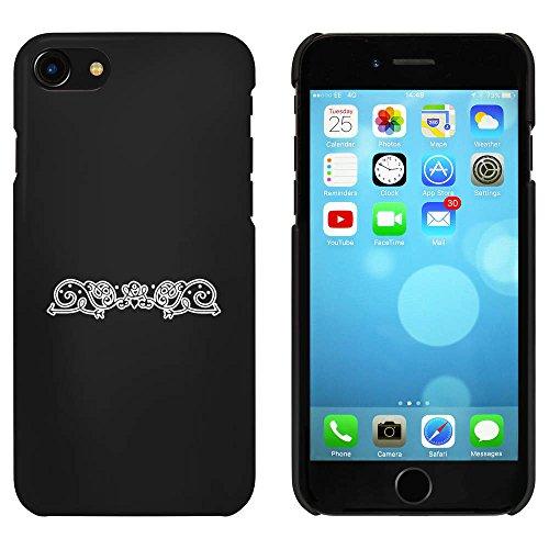 Noir 'Fantaisie Bordure' étui / housse pour iPhone 7 (MC00086106)