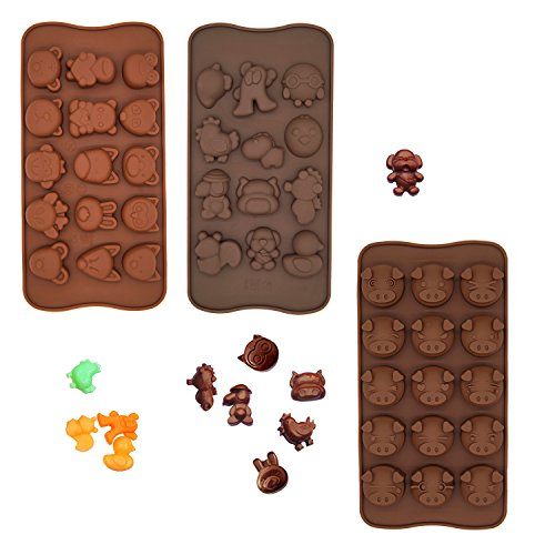 Poproo Animal Shaped 3 Piece Chocolate product image