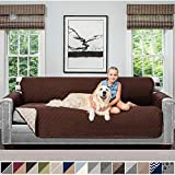 Sofa Shield Original Patent Pending Reversible Oversize Sofa Slipcover