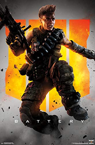 Trends International Call of Duty: Black Ops 4 - Battery Key Art Wall Poster, Multi