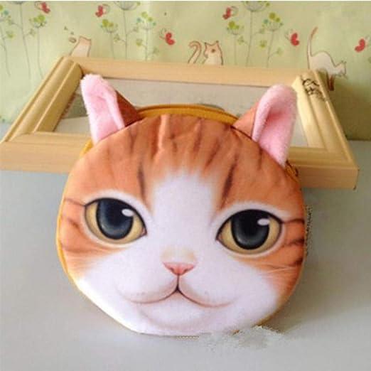 WUSYO Mini Gato monederos Monedero de los niños del Perro ...