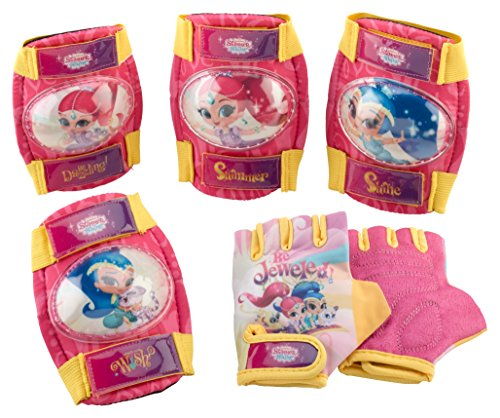Shimmer & Shine Girl's Pad Set with gloves by Schwinn