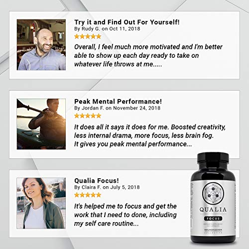 Qualia by Neurohacker Collective: The Most Comprehensive Nootropic Stack Designed to Increase Focus, Energy and Mental Performance by Neurohacker Collective (Image #5)