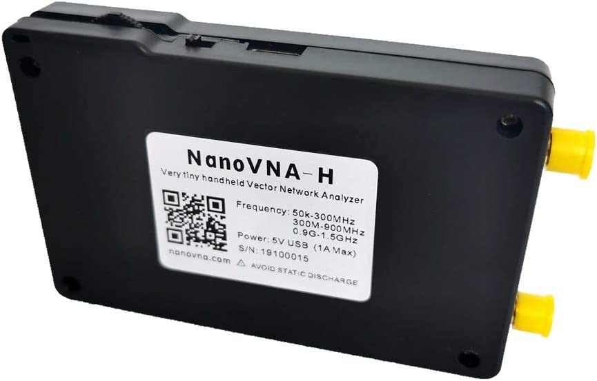 N//A NanoVNA-H 50KHz~1.5GHz VNA 2.8inch LCDHF VHF UHF UV Vector Network Analyzer Antenna Analyzer