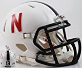 Riddell Nebraska Huskers Speed Mini Helmet - Alt White