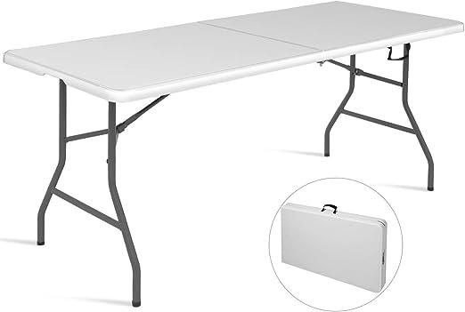 Mesa plegable Mesa de camping cerveza mesa maletín mesa comedor ...