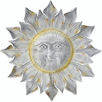 Amazon.com: Accent Plus Sunflower Wall Decorations, Large Metal ...