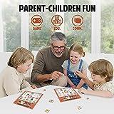 KD KIDPAR Halloween Bingo Cards Game Set for Kids