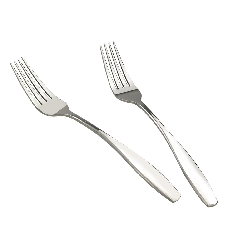 Ggbin Stainless Steel Salad Forks, Dessert Fork, 12 Pieces