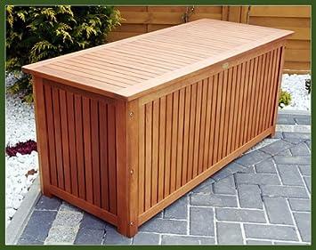 Brandneu GARTENTRUHE GARTENBOX AUFLAGENBOX TRUHE,aus Edel Holz: Amazon.de  VE08