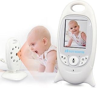 BABY MONITOR WIRELESS TELECAMERA AUDIO VIDEO SORVEGLIANZA CONTROLLO SONNO BIMBO