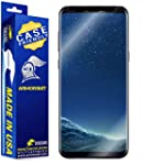 ArmorSuit Galaxy S8 MilitaryShield Lifetime Replacements [Case Friendly] Screen Protector for Samsung Galaxy S8