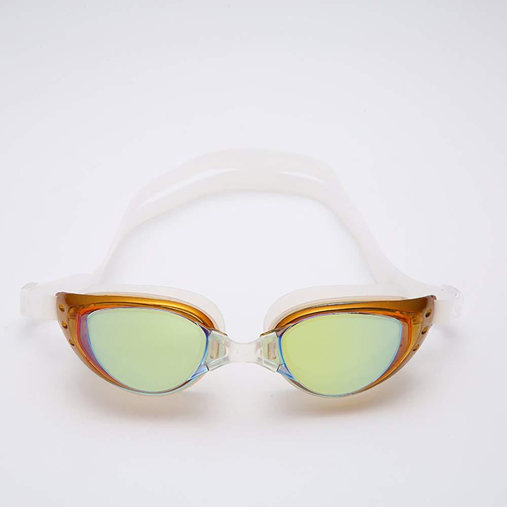 CapsA Waterproof Swimming Goggles for Women Men Professional Anti-Fog Swim Glasses