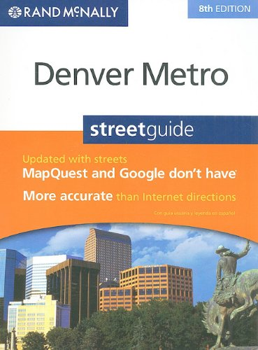 Rand Mcnally Denver Metro Street Guide  English And Spanish Edition