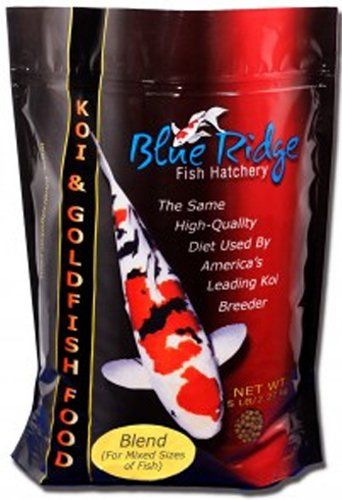 Blue Ridge Blend Fish Food 25lb by Blue Rdge Fish Hatchery