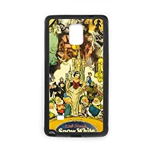 Snow White and Seven Dwarfs for Samsung Galaxy Note 4 Cell Phone Case & Custom Phone Case Cover R44A650287