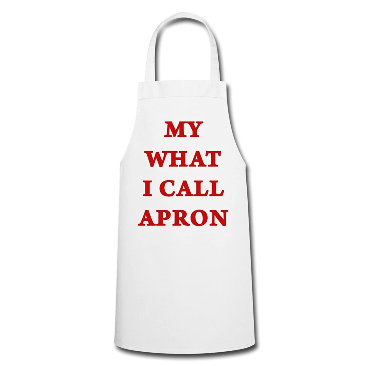 Spreadshirt My What I Call Apron Quote Humour Cooking Apron,
