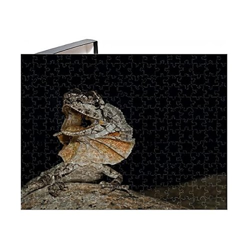 Media Storehouse 252 Piece Puzzle of Frill-Necked Lizard -