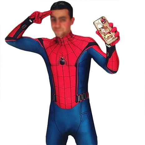 QWEASZER Spider-Man: Homecoming, Traje de Spiderman Anime ...