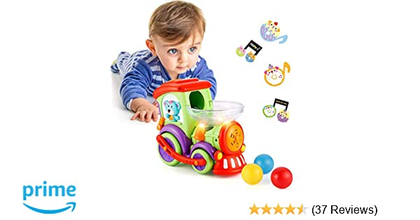 Baby Toys Car 1 2 3 Year Old Toddler Boy Cars Train Balls Lights Music Early Educational Locomotive Toy Gifts Boys Girls