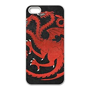 Red giant monster Cell Phone Case for iPhone 5S