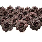 100-Silk-Brown-Roses-Flower-Head-175-Artificial-Flowers-Heads-Fabric-Floral-Supplies-Wholesale-Lot-for-Wedding-Flowers-Accessories-Make-Bridal-Hair-Clips-Headbands-Dress