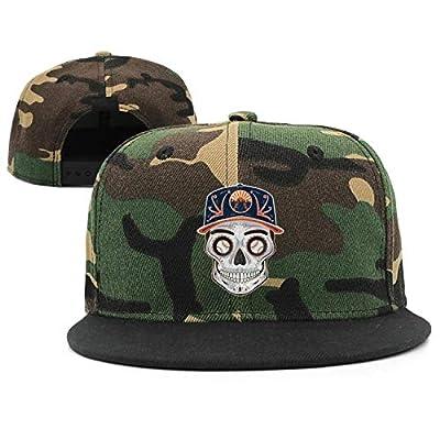 TTZHI Camouflage Baseball Cap for Men Women,New York Baseball Skull Mets_Art Adjustable Snapback Trucker Hat