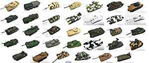 Générique Set of 33 Military WW2 Vehicles 1:72 -DIECAST Tank Char US French Germany Russia Italy Israel Armies