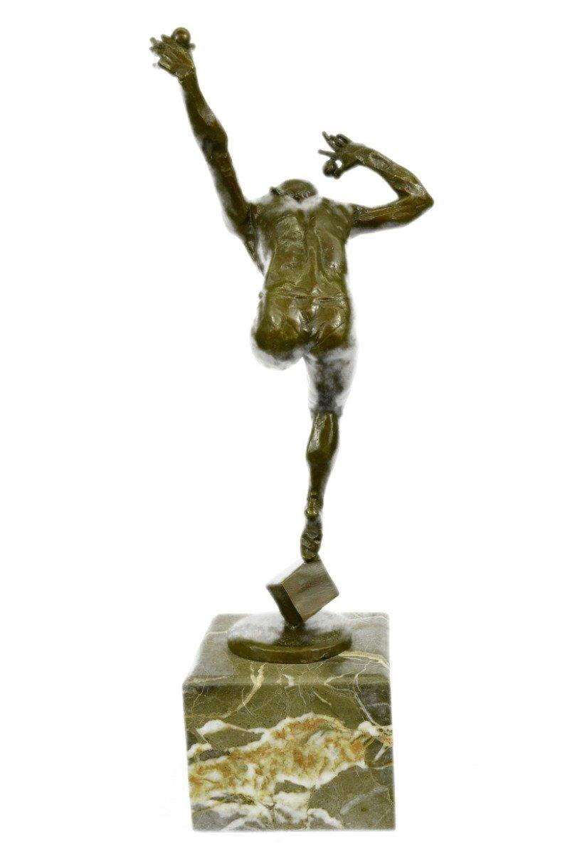 Buy HandmadeEuropean Bronze Sculpture Art Deco