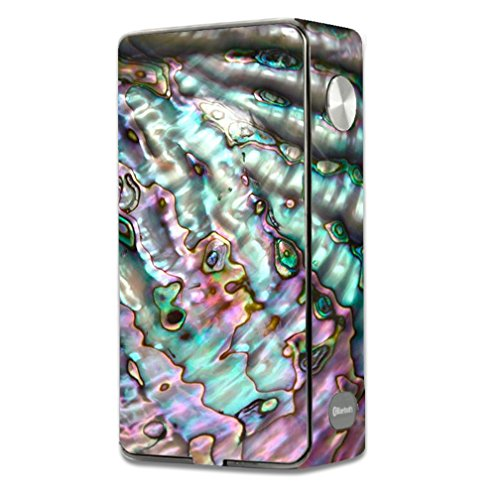 Skin Decal Vinyl Wrap for Laisimo L3 Touch Screen TC Vape Mod Skins Stickers Cover / Abalone Pink Green Purple Sea Shell