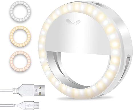 Selfie Ring Light for Smart Phone Photography, Vlog, TikTok
