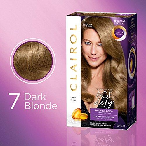 Clairol Age Defy Hair Coloring Tools, 7 Dark Blonde ()