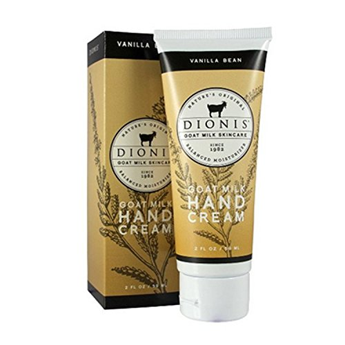Dionis Vanilla Bean Hand Cream (2 oz) (Scented Vanilla Hand Cream)