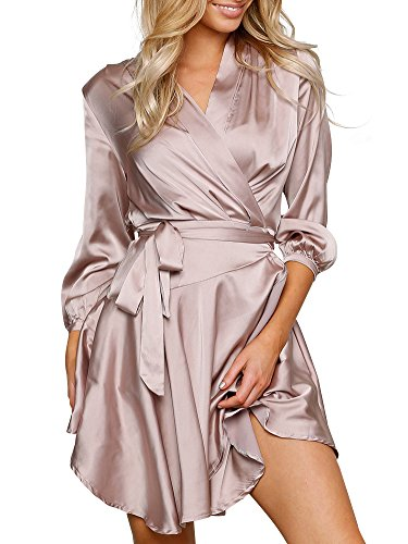 simplee-apparel-womens-3-4-sleeve-v-neck-tie-ruffles-hem-satin-wrap-dress-silver-purple-medium