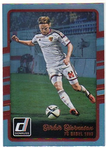 fan products of 2016 Donruss Holographic #70 Birkir Bjarnason FC Basel 1893 Soccer Card
