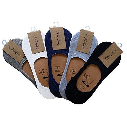 5 Paar Comfort Sneaker Socken Bambus Arbeitssocken für Damen und Herren