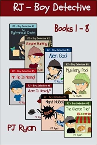 RJ - Boy Detective Books 1-8: Fun Short Story Mysteries for Children Ages 9-12 by Ryan, PJ (2014)